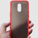 Red Smoke Silicone Protection Case For OnePlus 7