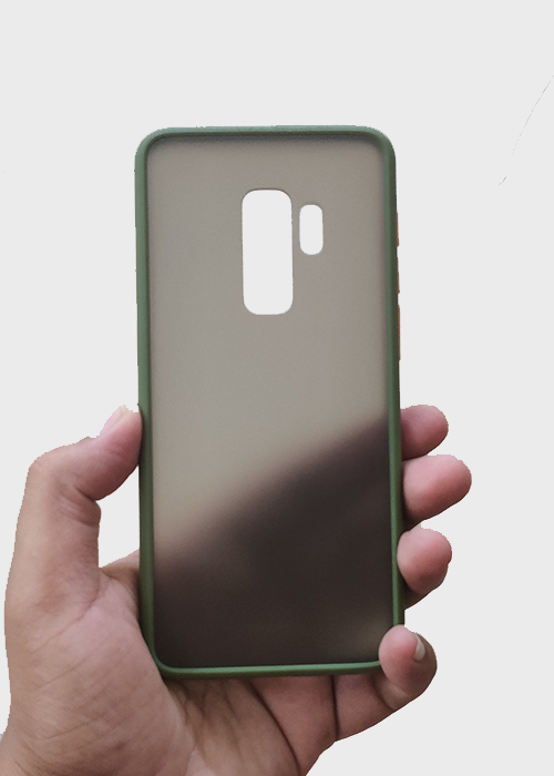 Green Smoke Silicone Protection Case For Samsung S9 Plus