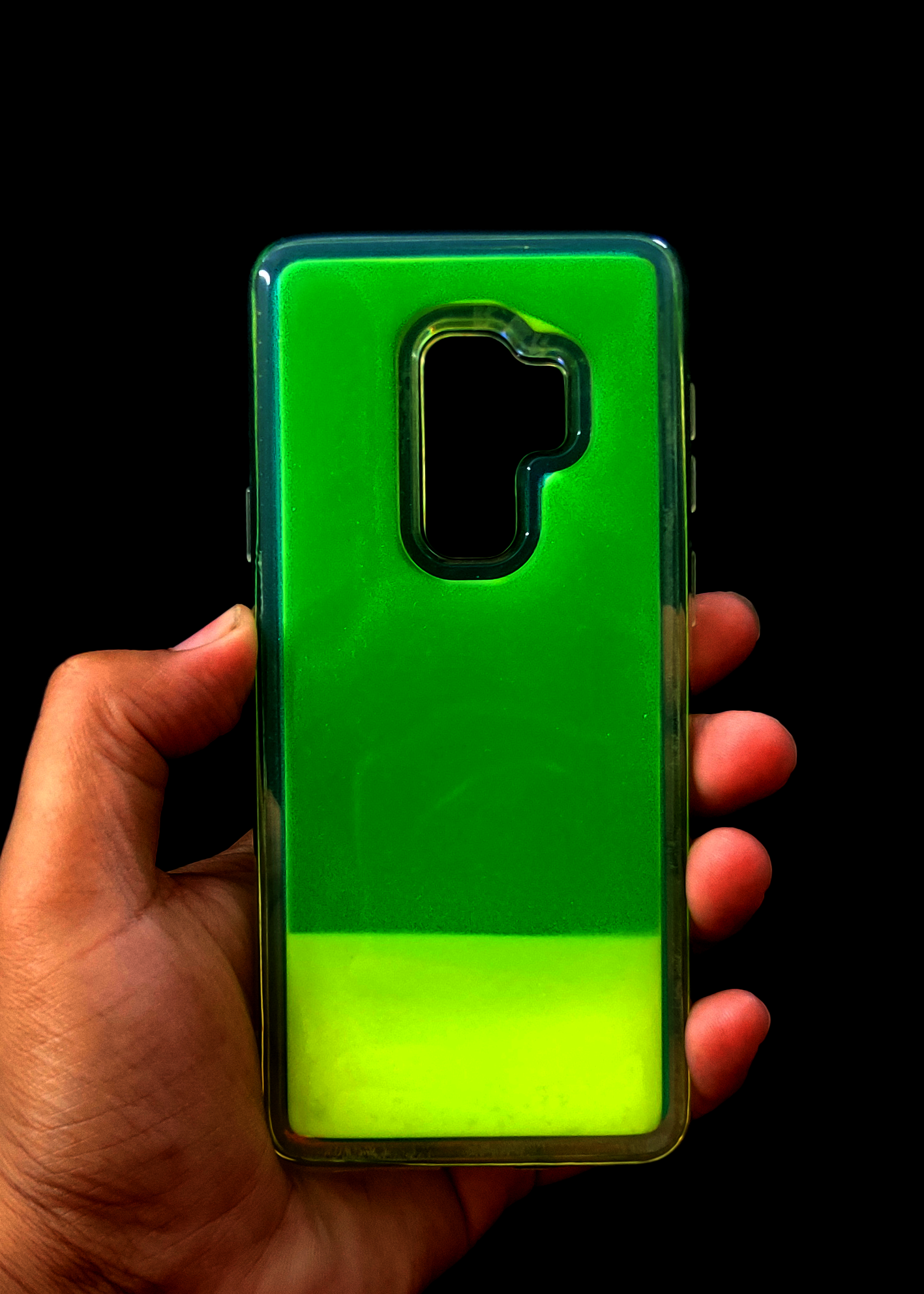Green Glow In the Dark Case For Samsung S9 Plus