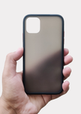 Black Smoke Silicone Protection Case For Apple Iphone 11