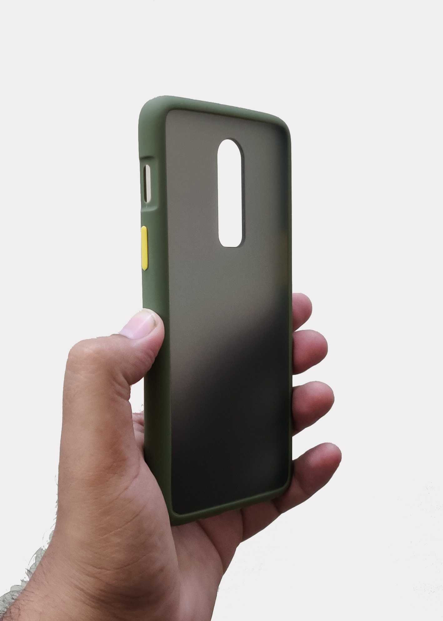 Green Smoke Silicone Protection Case For OnePlus 6