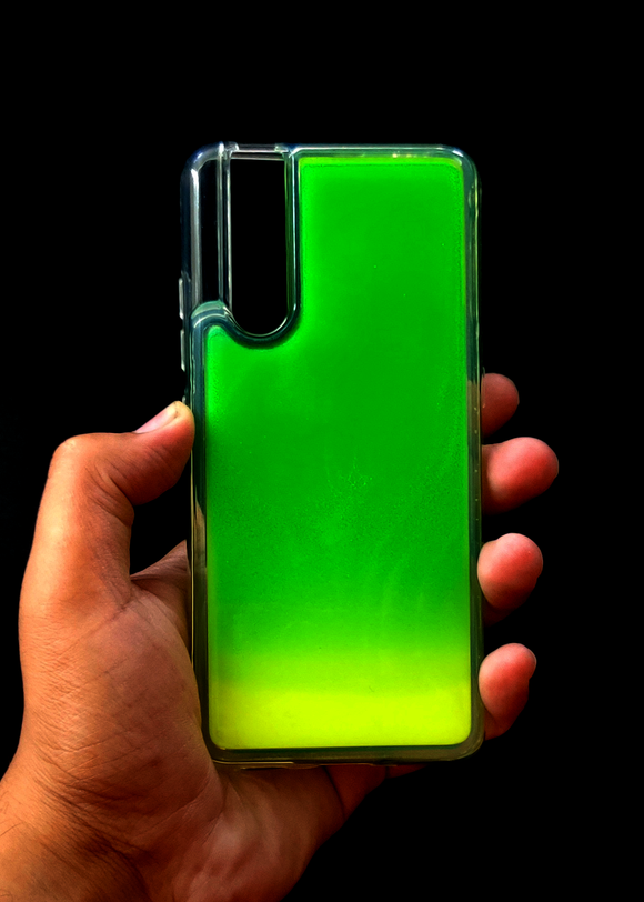 Green Glow In the Dark Silicone Case For Vivo V15 Pro