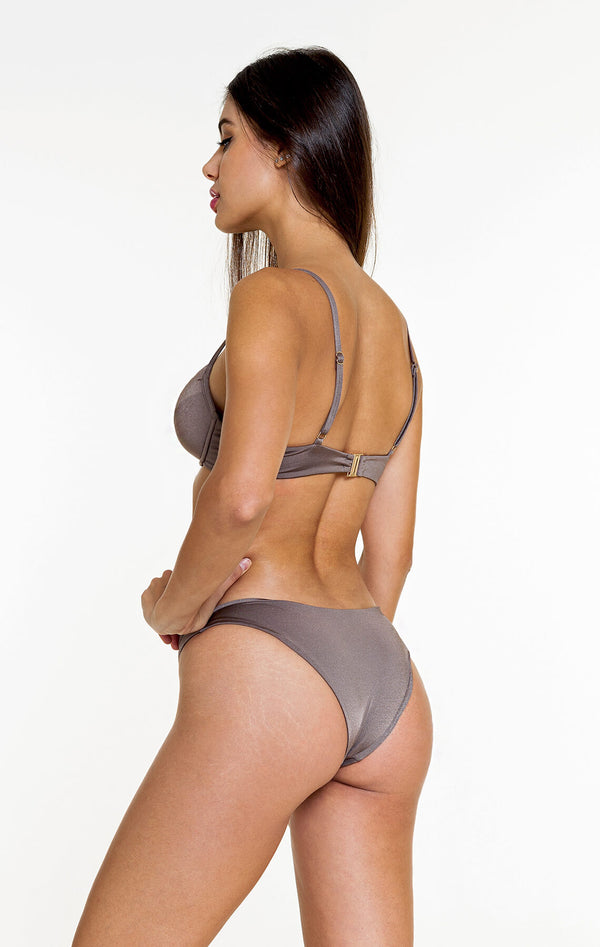 Regular Bottom (Shiny Brown)