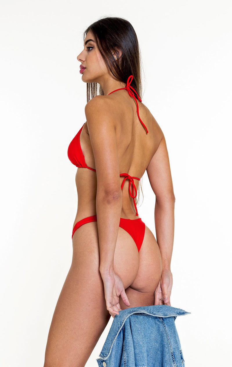 Thong Bottom (Red)