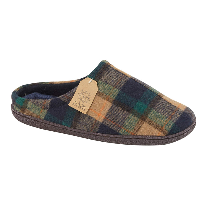 Men's 'Berwick' Tartan Slipper Mule
