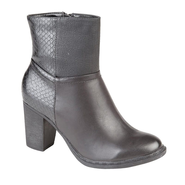 Ladies Gigi Ankle Boots - Black