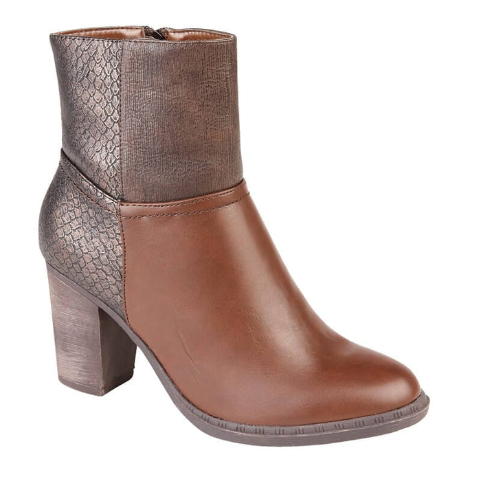 Ladies Gigi Ankle Boots - Brown