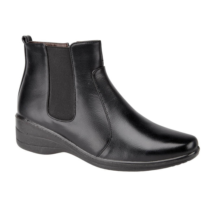 Ladies Maple Ankle Boots - Black
