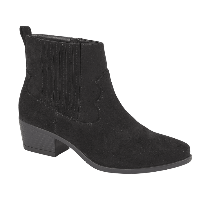 Ladies Samantha Ankle Boots - Black