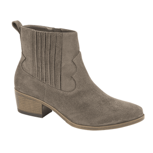Ladies Samantha Ankle Boots - Mink