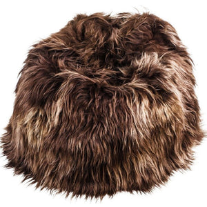 Adult Sheepskin Bean Bag | Icelandic | Chestnut