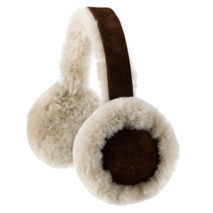 Brushwood Colour Sheepskin Earmuffs