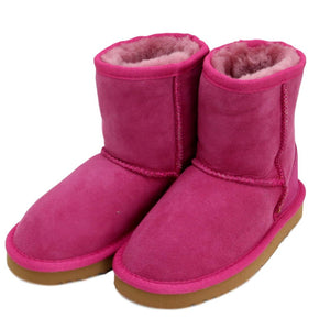 Children's Sheepskin Boot - Pink