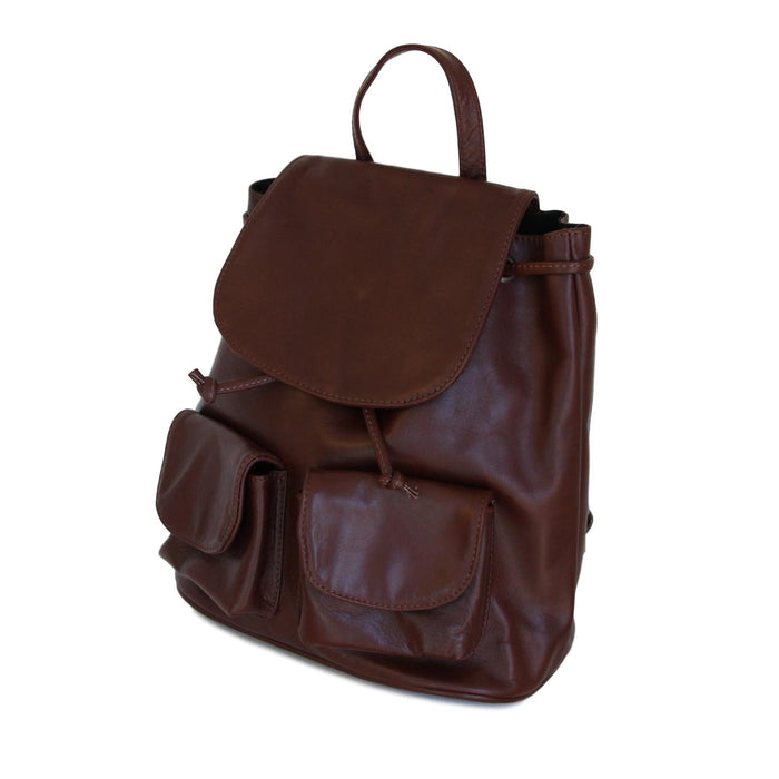 Ladies Milena Italian Leather Backpack