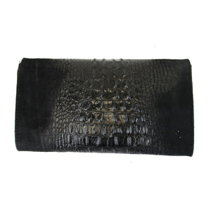 Ladies Penny Italian Leather Clutch Handbag