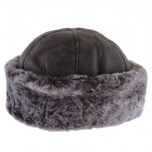 Ladies Vizon Panel Dome Sheepskin Hat - Duxford