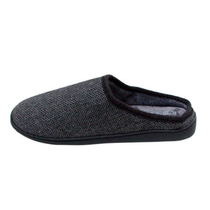 Men's 'Ashcroft' Dark Grey Slipper Mule
