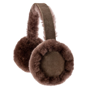 Mink Colour Sheepskin Earmuffs