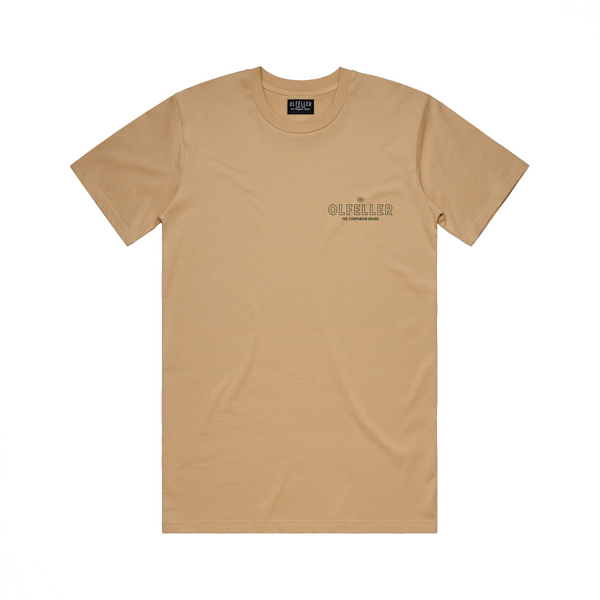 Sport & Leisure Tee Tan