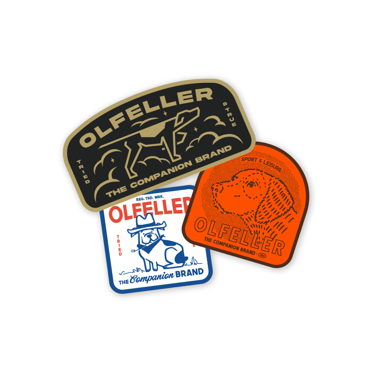Olfeller 3pc Sticker Pack