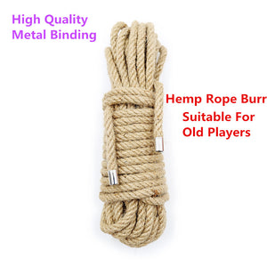 Premium Hemp Rope For Bondage and Shibari - Cum Splash