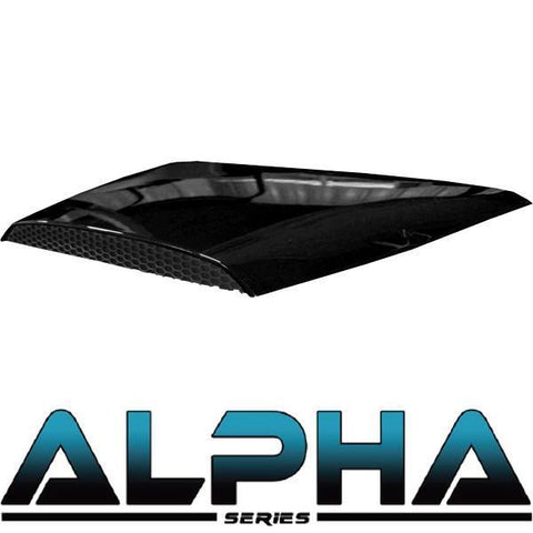 Black Hood Scoop for ALPHA Body Kits