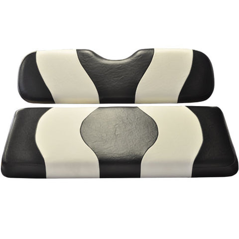 10-014A-Two-Tone-Black-White-Rear-Seat-Cushion-Set--Designed-Madjax-