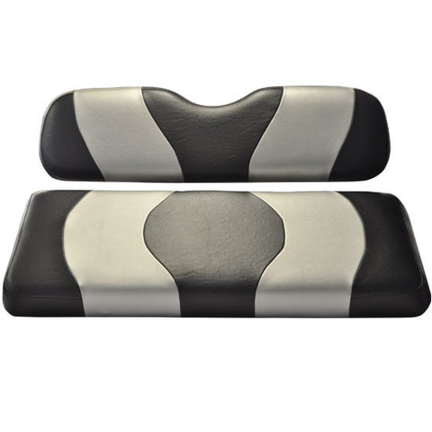 10-097-Two-Tone-Black-Silver-Rear-Seat-Cushion-Set--Designed-Madjax-