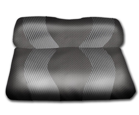 10-099-Golf-Cart-Two-Toned-Front-Seat-Cover-Carbon-Fiber-no-cushion-for-Club-Car-DS-cartguy-madjax-ontario-canada