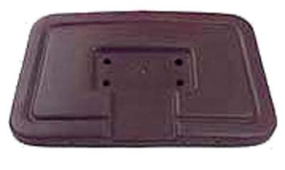 1011231 Seat Back Cap Brown - Club Car 1982 to 1999
