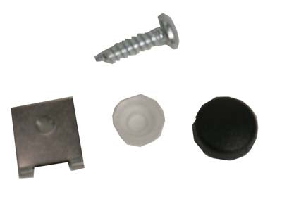 1014645 Dash, Snap Washer Mounting Kit (Black)  - Club Car DS