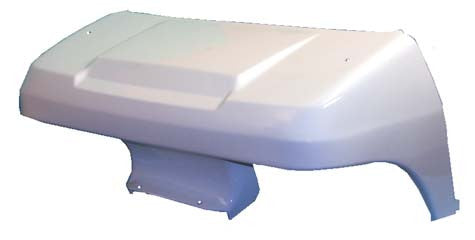 1016925-02 Front Cowl White - Club Car DS