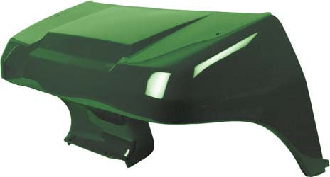 1016925-10 Front Cowl Dark Green - Club Car DS