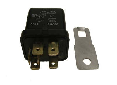 1017239 Electric Component Box Relay - Club Car  Gas Utility