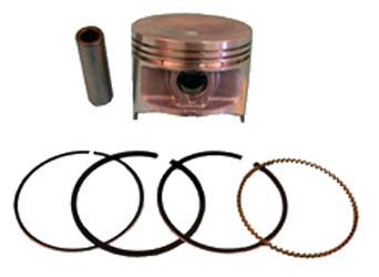 1017449-01 Piston Ring Assembly Standard - Club Car Gas FE350 1996 & Up