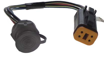1022667-01 IQ DM Port Wire Assembly - Club Car Precedent Electric