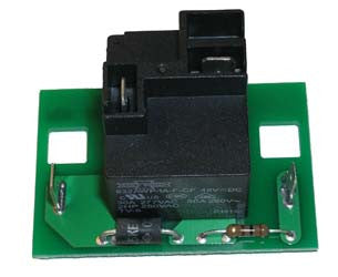 1034287-01 Power Drive III Relay Board Assembly 48-Volt Charger - Club Car Electric