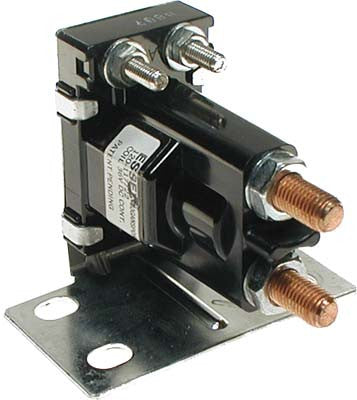 1135 Solenoid 36 Volt 4 Terminal Tower Style with Silver Contacts - Ezgo Electric 36 Volt