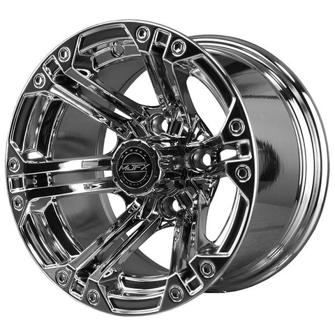 Golf Cart Wheel NITRO 12 x 7 Chrome.