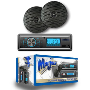 13-A03-Golf-Cart-Millenia-AM-FM-CD-AUX-USB-4-X-40-watts-with-5-inch-speakers-and-antenna-Radio-cartguy-madjax-ontario-canada-