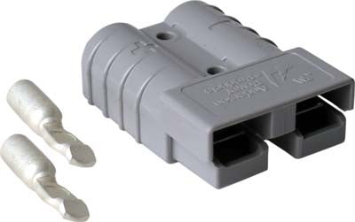 13715-G2 Anderson Plug Gray SB50 = Ezgo Electric 1983 to 1995