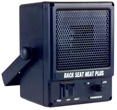 D.C. electric heater. Dash, floor or firewall mountable.