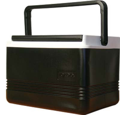 COOLER,12 QT. BLACK