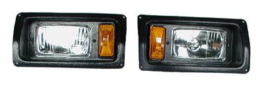 15661 Head Lights Only - Club Car Gas & Electric 1993 & Up