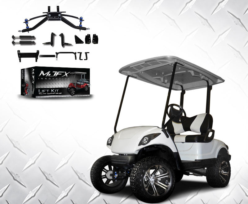 6 inch a arm lift kit will fit yamaha drive. Black Bedroom Furniture Sets. Home Design Ideas