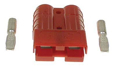 18782-G2 Plug Red SB50 with 10 Gauge Contacts - Ezgo Electric