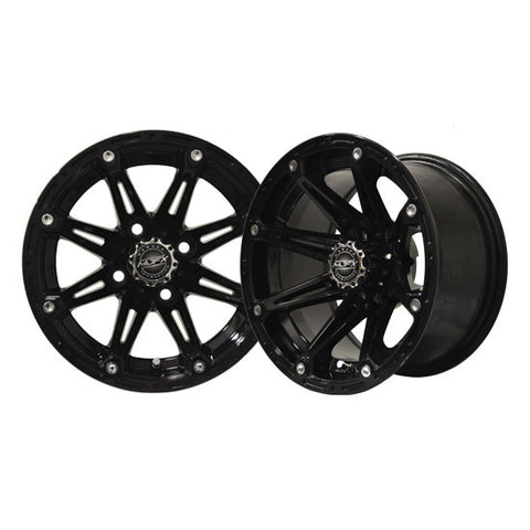 19-050-12-x-7-Element-Black-Wheel-Golf-Cart-Rim-cartguy-madjax-ontario-canada
