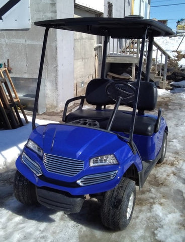 2009 Yamaha Drive Gas Golf Cart With Havoc Body