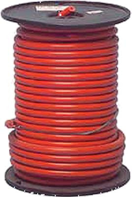 Cable Red 6 Gauge  X 49 Strand 100' Spool - Club Car