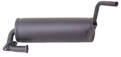25589-G01 Muffler Ezgo 3 PG Assembly - Ezgo Gas 2 Cycle 1989 to 1994